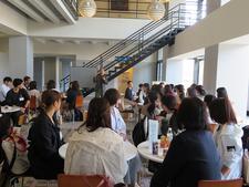 食物栄養専攻で「新入生歓迎会オリゼミ」を行いました