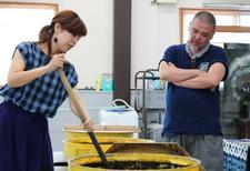 東京五輪エンブレムのデザイナー野老朝雄氏が来学されました