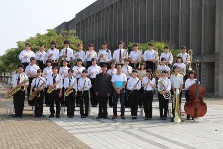 吹奏楽部が「第65回全日本吹奏楽コンクール徳島県大会」で金賞を受賞しました