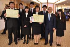 メディア情報学科の学生が第7回『ICT(愛して)とくしま大賞』で賞を受賞しました