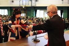 平成29年度 卒業証書・学位記授与式を挙行しました