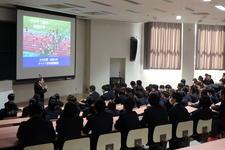 生光学園高等学校との高大連携プログラムを実施しました