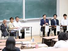 四国大学・鳴門教育大学大学院共催シンポジウム「公認心理師の養成と社会的意義~新たな国私連携プログラムにむけて~」を開催しました