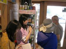 管理栄養士養成課程の学生が美波町で惣菜・駅弁開発の現地調査を実施しました