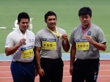 陸上競技部の幸長選手が「第87回日本学生陸上競技対校選手権大会」で優勝しました