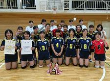 女子バレーボール部が「平成30年度第54回四国大学バレーボール秋季リーグ戦大会」でⅡ部優勝及びⅠ部昇格しました
