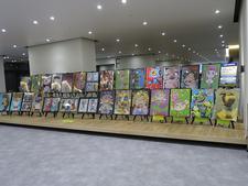 2/15(金)~2/24(日)展示「生活科学科デザインコース作品展(美馬市立図書館)」