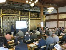 「安楽寺文化財調査報告会」を実施しました