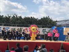 四国大学ゴールデンZクラブが「勝浦さくら祭り」で運営ボランティアを行いました