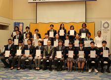 徳島県「オリンピック・国体選手育成事業」強化指定選手に本学から職員1名、学生3名が選出されました