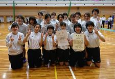 女子バレーボール部が「2019年度第48回四国大学バレーボール春季リーグ戦」Ⅰ部で準優勝しました