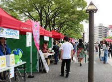 「四国大学出張キャンパス in トモニSunSunマーケット」を開催しました