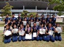 陸上競技部が「第73回中国四国学生陸上競技対校選手権」4種目で優勝しました