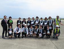 国際文化学科の学生が徳島阿波おどり空港で実地研修に参加しました