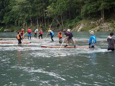 新あわ学コース  体験「那賀町木頭『林業』について」を実施しました