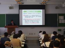 全学共通科目「国際関係・国際理解」の授業で、JICA特別講義「国際協力論」がスタートしました