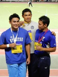 陸上競技部幸長慎一選手(生活4)が「第88回日本学生陸上競技対校選手権大会(全日本インカレ)」で2冠を果たしました