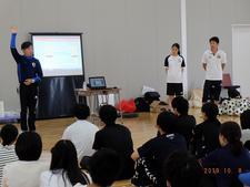 児童学科の学生が「アイスブレイク及び認知機能に働きかけるトレーニングの初歩」についての研修に参加しました