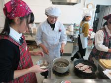 徳島市受託事業「高校生対象の料理教室」を実施しました