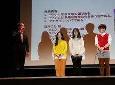 「日本語表現活動最終成果発表会」を行いました