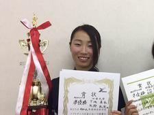 女子ソフトテニス部の部員が日本ソフトテニス連盟の「令和2年 全日本U-20チーム選手」に選出されました