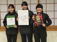 吹奏楽部が「第43回全日本アンサンブルコンテスト四国支部大会」の木管3重奏で金賞を受賞しました