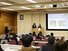 人間健康科食物栄養専攻 「令和元年度 卒業実験発表会」を開催しました