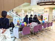 「四国大学♡徳島駅前にぎわいキャンパス2020 デコレーション提灯ワークショップ」を開催しました