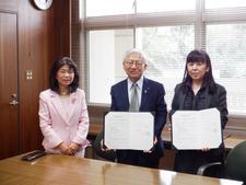 兵庫県立淡路高等学校と包括連携協定を締結しました