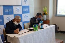 ケーブルテレビ徳島株式会社との連携協力に関する協定締結式を開催しました