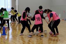 児童学科の学生が小学校体育サポート研修会に参加しました