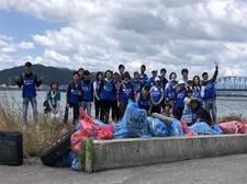 【終了しました】「Let's protect the earth project 地球環境を守ろう」小松海岸の清掃活動について