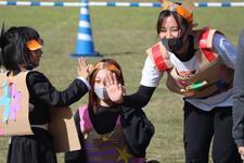 幼児教育保育科の学生が幼児・小学生を対象としたハロウィンイベントに出演しました