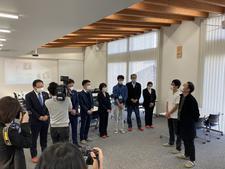 音楽科の学生が北島町商工会との連携事業で企業の魅力を発信するラジオCMソングを製作しました