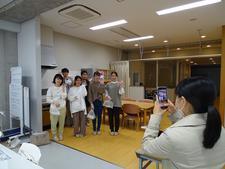 本学看護学科の学生が新型コロナウイルス感染症予防PR動画の撮影に協力しました