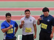 陸上競技部幸長慎一選手(大学院2)が「日本学生陸上競技個人選手権大会」男子円盤投・男子砲丸投で優勝し2冠を達成しました
